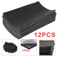 12 Sheets 10mm Closed Cell Foam Car Sound Proofing Deadening Van Boat Insulation