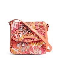 Vera Bradley Summer Sparkle Crossbody Small Bag Purse Pink Womens Girls 14782
