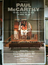PAUL McCARTHY, Very large exhibition poster, Hauser & wirth, 2012