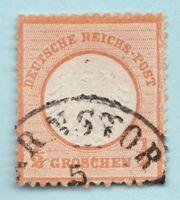 Sc3 / SG3a - Germany - ½ Groschen - 1872 - Used - superfleas - cv $47