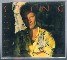 STING (THE POLICE) IF I EVER LOSE MY FAITH IN YOU CD SINGOLO cds SINGLE