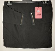 WOMEN'S WISH ENVELOPE SKIRT STRETCH BLACK SIZE 10 NWT RRP $99.95 FREE POSTAGE