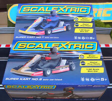 TWO BRAND NEW BOXED SUPER KARTS - SUPER RESISTANT & DPR C3667 & C3668 - 1:32.