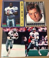 Dallas Cowboys Photo Picture Lot Of 4 Troy Aikman, Emmitt Smith Nice J7