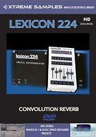 Xtreme Samples Lexicon 224 HD Reverb Impulse Response Library