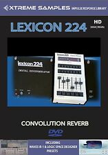 XTREME samples Lexicon 224 HD Reverb impulsi response Library
