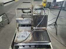 Hobart Hcg 2 Panini Grill Charbroiler Convenient Grill Commercial Lot Of 2
