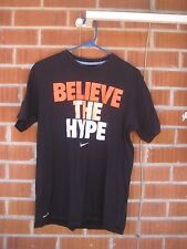 Pre-owned *** BELIEVE THE HYPE *** Men's Medium Dri-Fit Nike T-Shirt