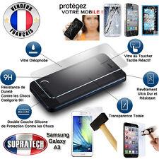 Protection d'Ecran en Verre Trempé Contre les Chocs pour Samsung Galaxy A3