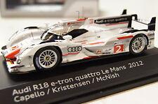 Audi R18 e-tron Le Mans 2012 #2 1:43 Spark / Audi neu + OVP