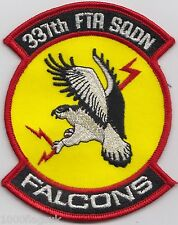 337th Flight Test Squadron The Falcons US Air Force Embroidered Patch Badge