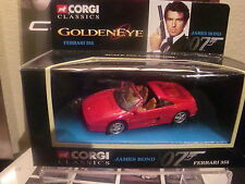 CORGI FERRARI 355 JAMES BOND 007
