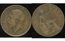 ROYAUME UNI  one penny 1911