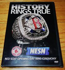 History Rings True: The Red Sox Opening Day Ring Ceremony 4/11/2005 (DVD, 2005)