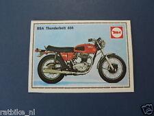 SMP033- BSA THUNDERBOLT 650 & BULTACO ASTRO 350  PICTURE STAMP ALBUM CARD,ALBUM