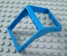 LEGO Blue 4x4x6 Sloping Space Window No Glass