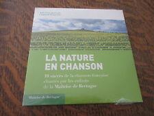 cd selection musicale chanson francaise la nature en chanson 10 succes de la cha