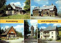 Auersberg bei Johanngeorgenstadt DDR Mehrbild-AK ua. Gasthaus Sauschwemme uvm.