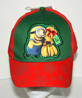 Despicable Me Bananas Movie Minion Carl Hat Baseball Cap New NOS Kids