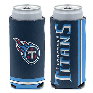New 2-Sided Tennessee Titans Football League Licensed Slim Can Cooler- 1PC