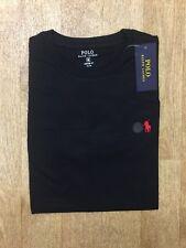 Mens Ralph Lauren Short Sleeve Crew Neck Polo Shirt Navy Blue 2xl