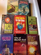 8 Sci Fi Lot EDMOND HAMILTON BEST, STAR KINGS, HAUNTED STARS, DOOMSTAR, STARWOLF
