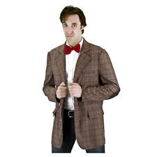 Doctor Who 11th Doctor Matt Smith Plaid Cosplay Costume Jacket Coat Blazer Cloak