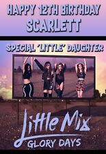 Little Mix Birthday card Personalised Daughter Sister Niece Friend Free P+P 01