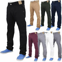 Jacksouth Mens Chino Jeans Regular Fit Cotton Stretch Trousers Pants Waist 32-40