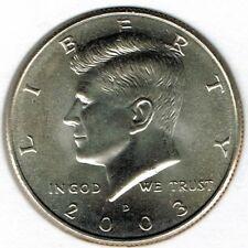 2003-D 50C Brilliant Uncirculated Business Strike Kennedy Half Dollar Coin!