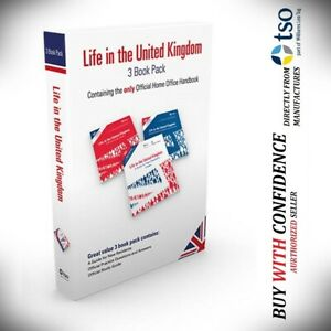 Life in the UK / United Kingdom 2021 new ed 3 books british citizenship Test-3BK