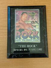 The Rock Photo Plaque Wrestling WWE WWF Dwayne Johnson 4.5x6