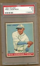 1933 FRED LINSTROM # 133  PSA 5