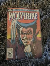 Wolverine Limited Series #1 Marvel Comic KEY 1st Solo Series
