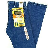 NWT WRANGLER Jeans Denim Original Pro Rodeo Competition Cowboy Cut Men's 29x32
