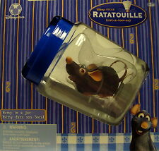 RATATOUILLE-REMY IN A JAR-ACTUALLY ROLLS ALONG ON 1 AA BATTERY-NEW-FACTORY -RARE