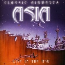 ASIA (ROCK) - CLASSIC AIRWAVES: LIVE IN THE USA NEW CD