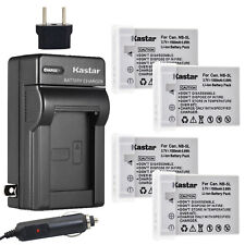 Kastar Battery Travel Charger for Canon NB-5L CB-2LX Canon Digital IXUS 90 IS