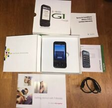 New listing Rare Htc Dream Google Black G1 + Box 1st Android Smart Cell Phone T-Mobile Works