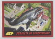 2017 Topps Mars Attacks: The Revenge Red 14 Subjects of Experiments /99 Card 3j2