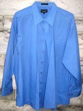 Kilburne & Finch long sleeve men's shirt size 18 1/2 34/35 FREE SHIPPING