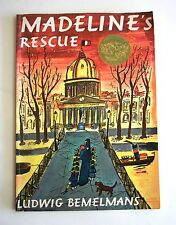 Madeline's Rescue  by Ludwig Bemelmans 2000 Large Paperback  - Illustrated