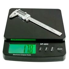 SF-803 30KG/1G Portable LCD Display Electronic Weighing Postal Scale Black