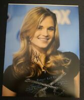 KRISTY LEE COOK SIGNED 8X10 PHOTO AMERICAN IDOL W/COA+PROOF RARE WOW