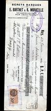 """NAY (64) USINE de BERETS BASQUES """"Eugene BARTHET & R. MORATILLE"""" en 1930"""