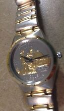 new Ladies rare California coin two toned bracelet dress elegant silver  Watch