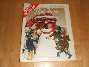 Radio Times Christmas Issue 22/12/1979 - 4/1/1980 London