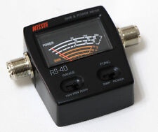 NISSEl RS-40 VHF UHF SWR & Power Meter 140-150Mhz 430-450Mhz 0-200W For Radios