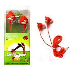 ANGRY BIRD EARBUD EARPHONES HEADPHONES
