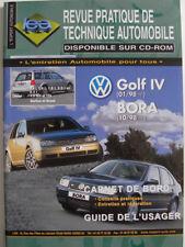 Revue technique automobile RTA neuve Volkswagen Golf IV -4 Bora Ess et Die N°402